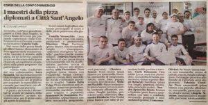 I Maestri della pizza diplomati a Città Sant'Angelo