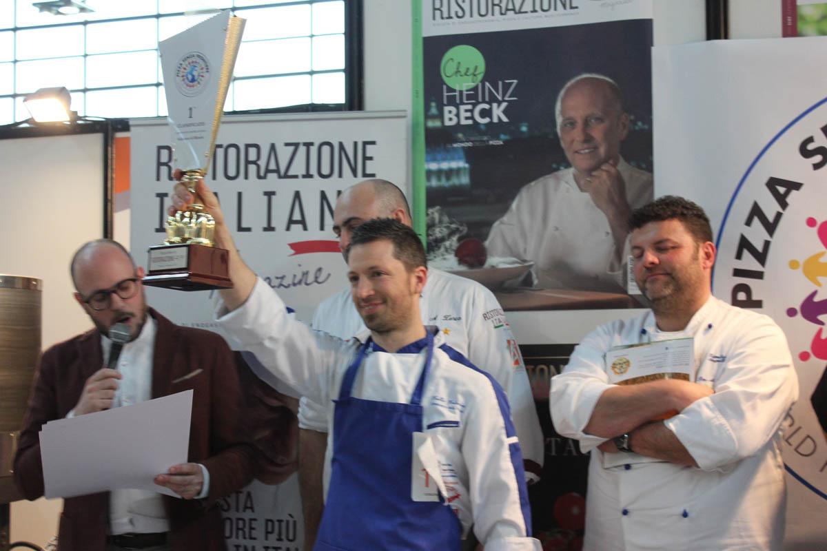 Valerio valle vince il Campionato Europeo di Pizza Senza Frontiere 2017