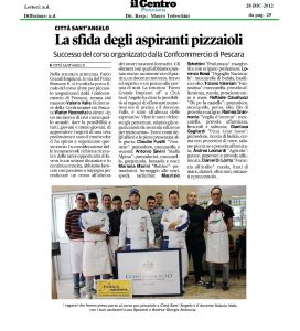 La Sfida degli aspiranti pizzaioli