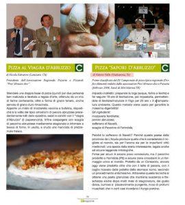 La Pizza vincitrice al Campionato Italiano di Pizza Tipica Regionale : la Sapori d'Abruzzo
