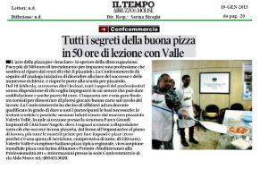 Tutti i segreti della buona pizza in 50 ore di lezione con Valle