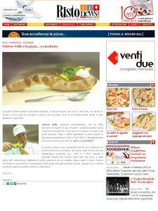 Valerio Valle e la pizza... a cucchiaio