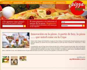 Innovaciòn en la pizza: A partir de hoy, la pizza... que usted come en la Copa