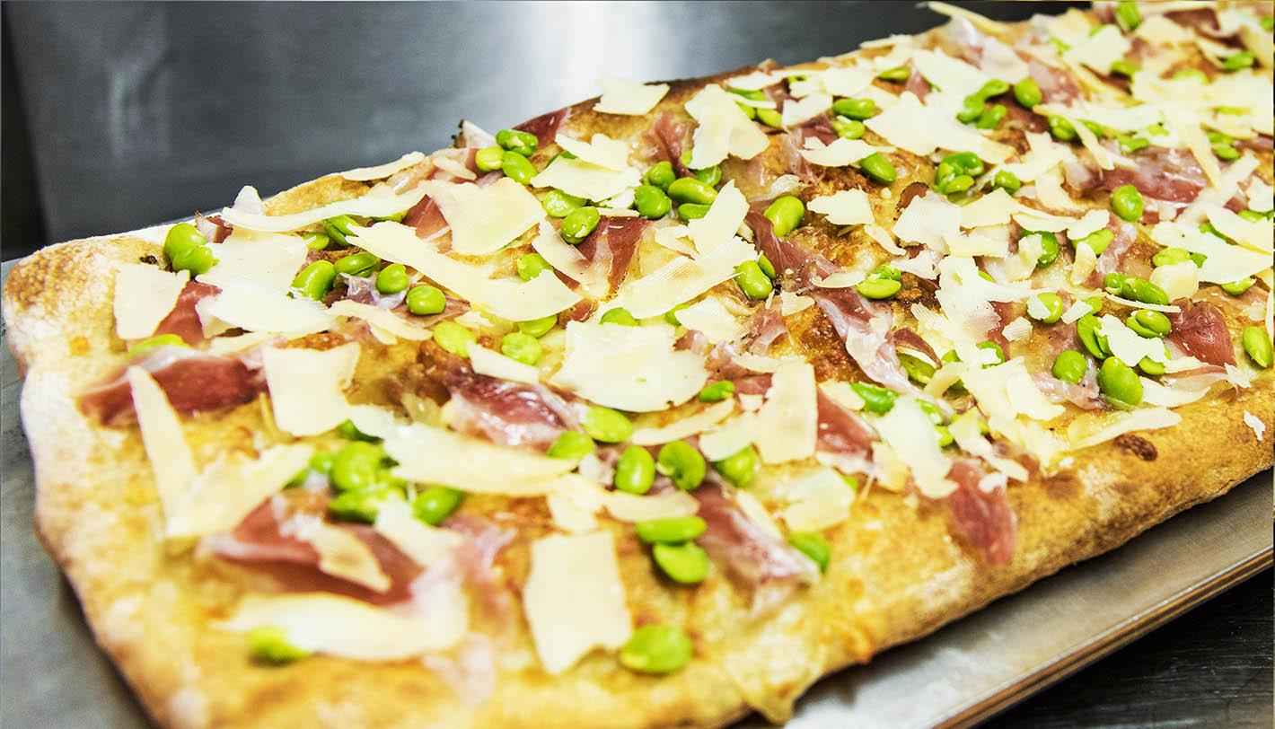 La pizza di Maggio