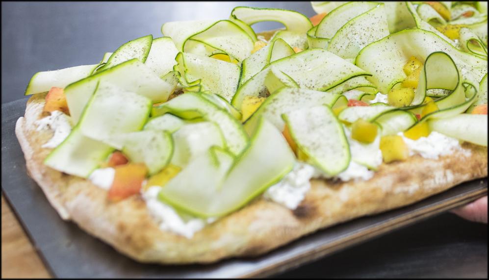 La pizza Agosto