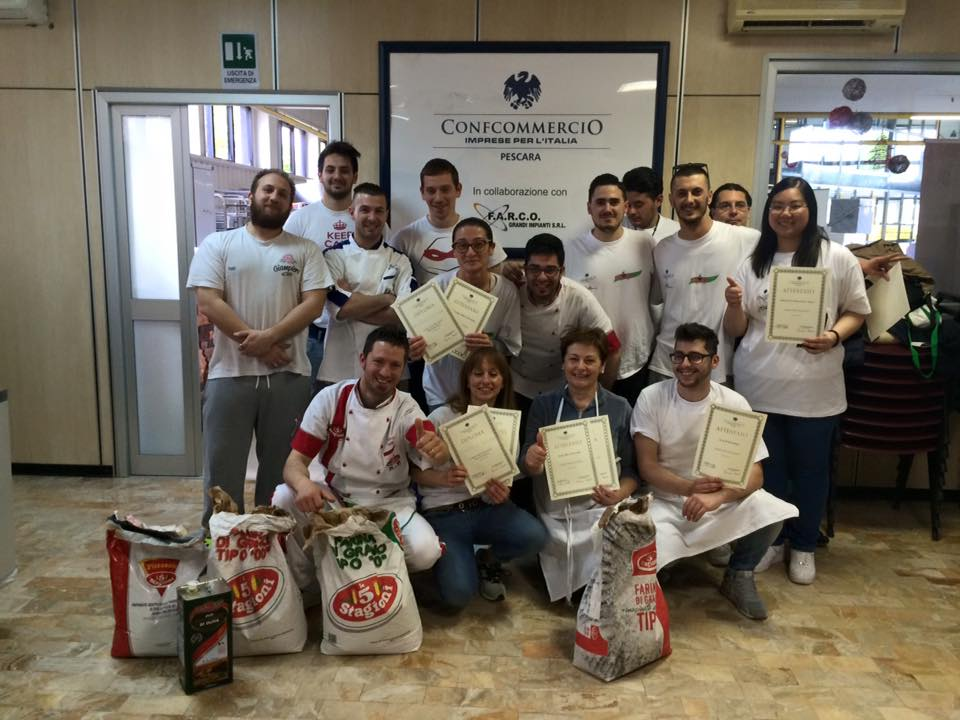 Concluso Corso Pizzaiolo Confcommercio Maggio 2016