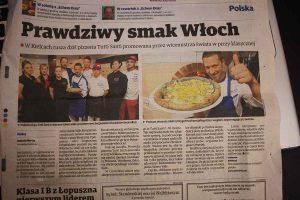 Prawdziwy smak Wloch- Apertura Pizzeria KIELCE