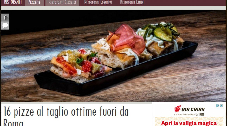 La Compagnia Della Pizza di Valerio Valle tra le migliori pizze al Taglio D' ITALIA secondo AGRODOLCE.IT