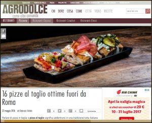 La Pizzeria Compagnia Della Pizza tra le migliori d'Italia secondo Agrodolce.it