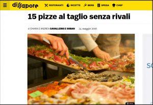 La Pizzeria F.lli Valle Tra le migliori d' Italia secondo Dissapore.com