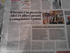 Il lavoro è in pizzeria Altri 14 allievi pronti a conquistare i palati