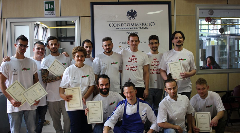 Concluso Corso Pizzaiolo Confcommercio Settembre 2017