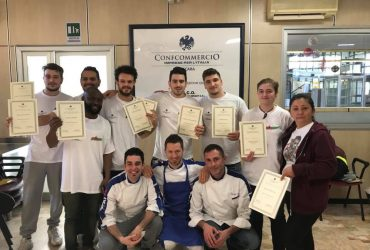 Concluso corso Pizzaiolo Febbraio 2018