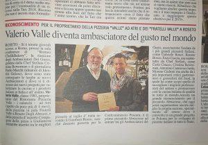 Valerio Valle Ambasciatore Del Gusto