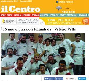 15 nuovi pizzaioli formati da Valerio Valle