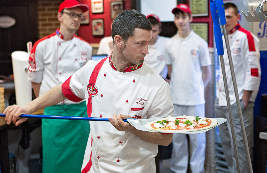 Valerio Valle pizzaiolo