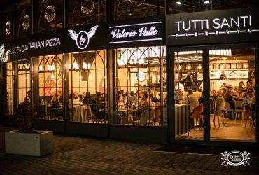 Valerio Valle inaugura la nuova pizzeria TUTTI SANTI a Lubin(Polonia)